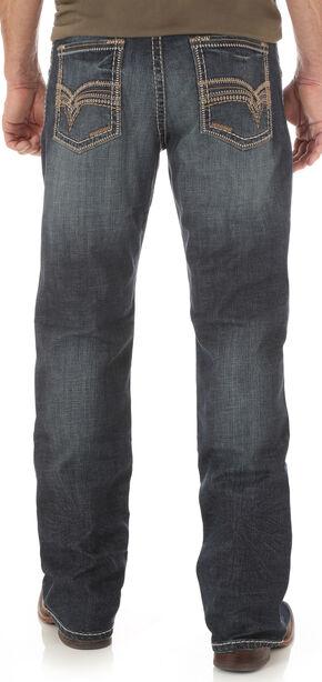 Wrangler Men's Rhythm Slim Boot Jeans - Big and Tall, Indigo, hi-res