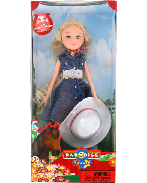 Paradise Horses Cowgirl Lexie, No Color, hi-res