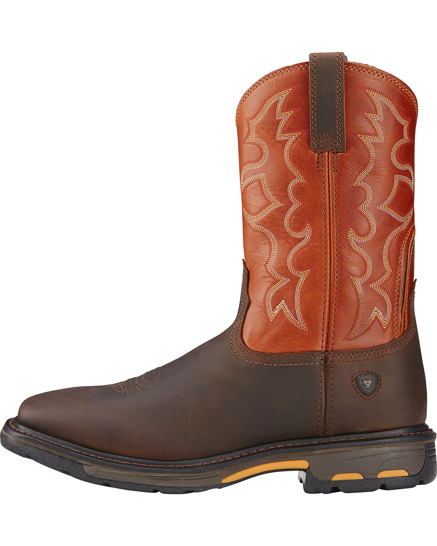 Workhog Western Work Boots - Steel Toe