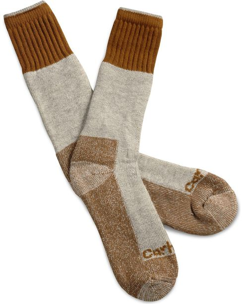 Carhartt Cold Weather Boot Sock, Brown, hi-res