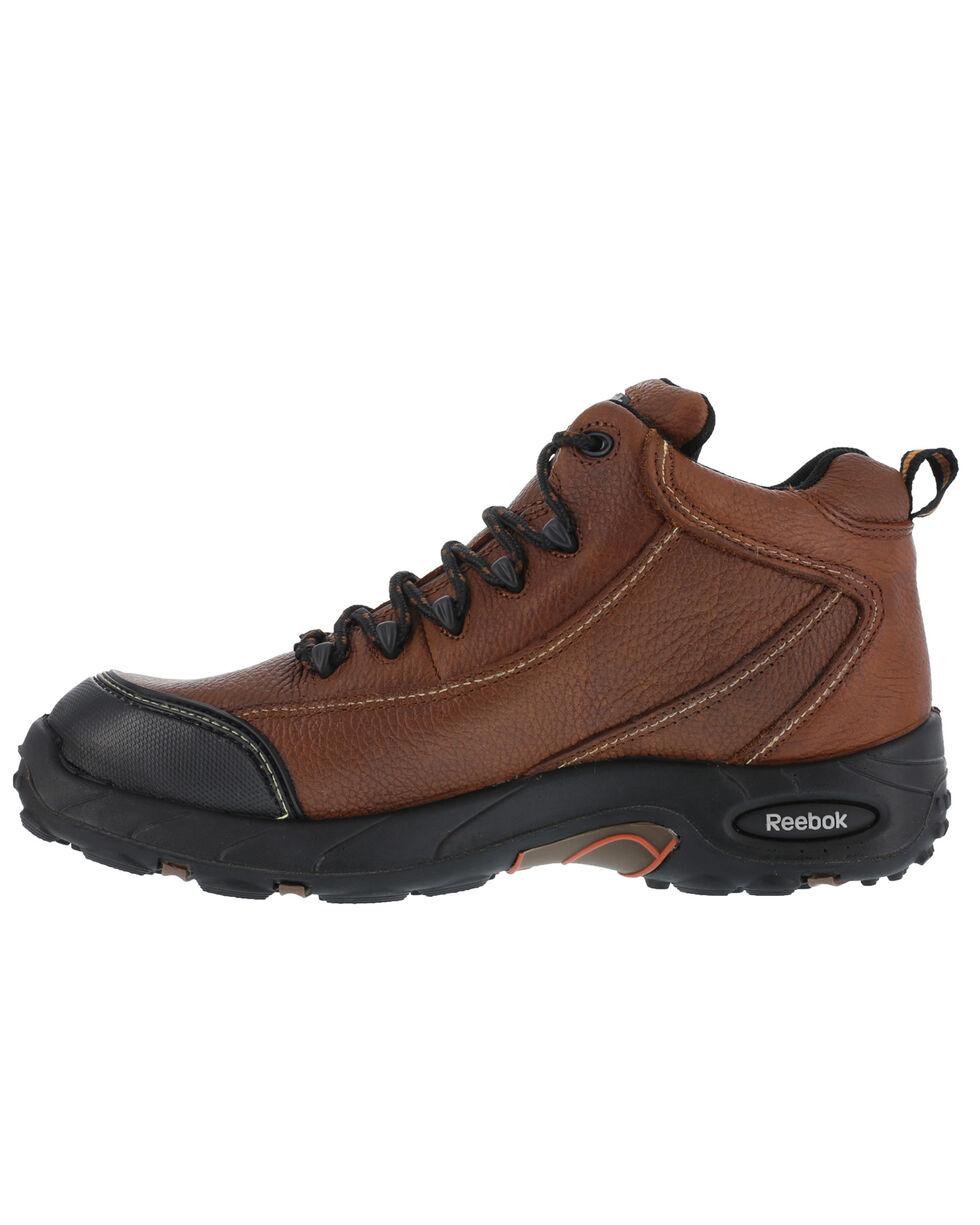 Reebok Men's Tiahawk Sport Hiker Work Boots - Composite Toe, Brown, hi-res