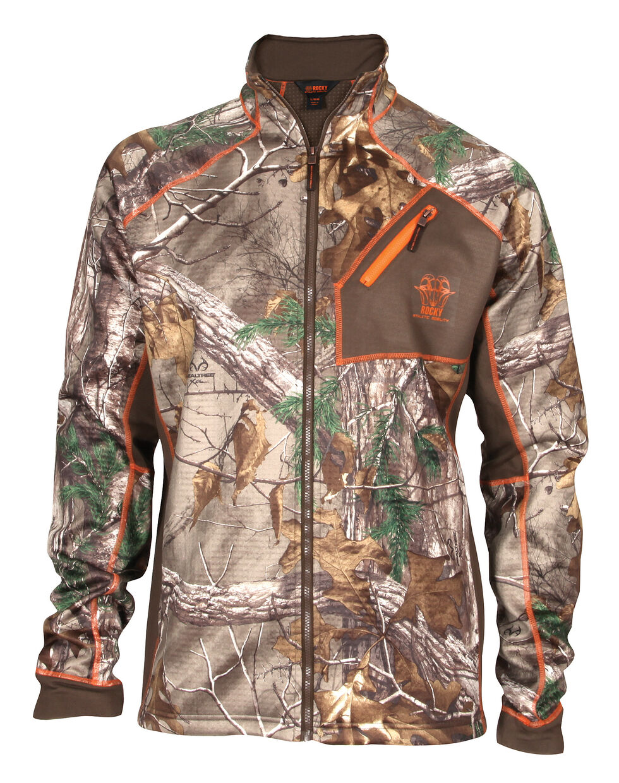 Rocky Realtree Xtra Camo Fleece Jacket, Camouflage, hi-res