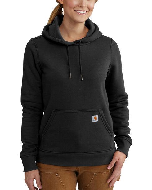 Carhartt Women's Clarksburg Pullover Sweatshirt , Black, hi-res