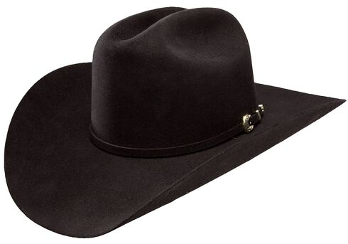 Stetson High Point 6X Fur Felt Cowboy Hat, Black, hi-res