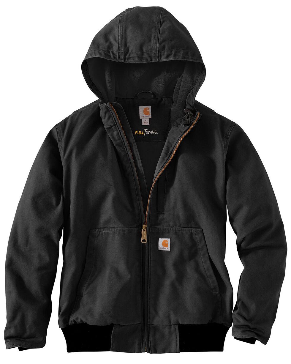 Carhartt Men's Full Swing Armstrong Active Jacket - Big & Tall , Black, hi-res