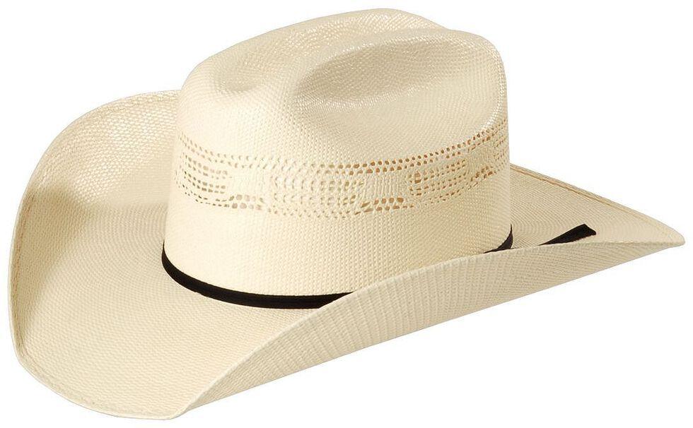 Justin 10X Cutter Straw Cowboy Hat  0fcb09f12b7