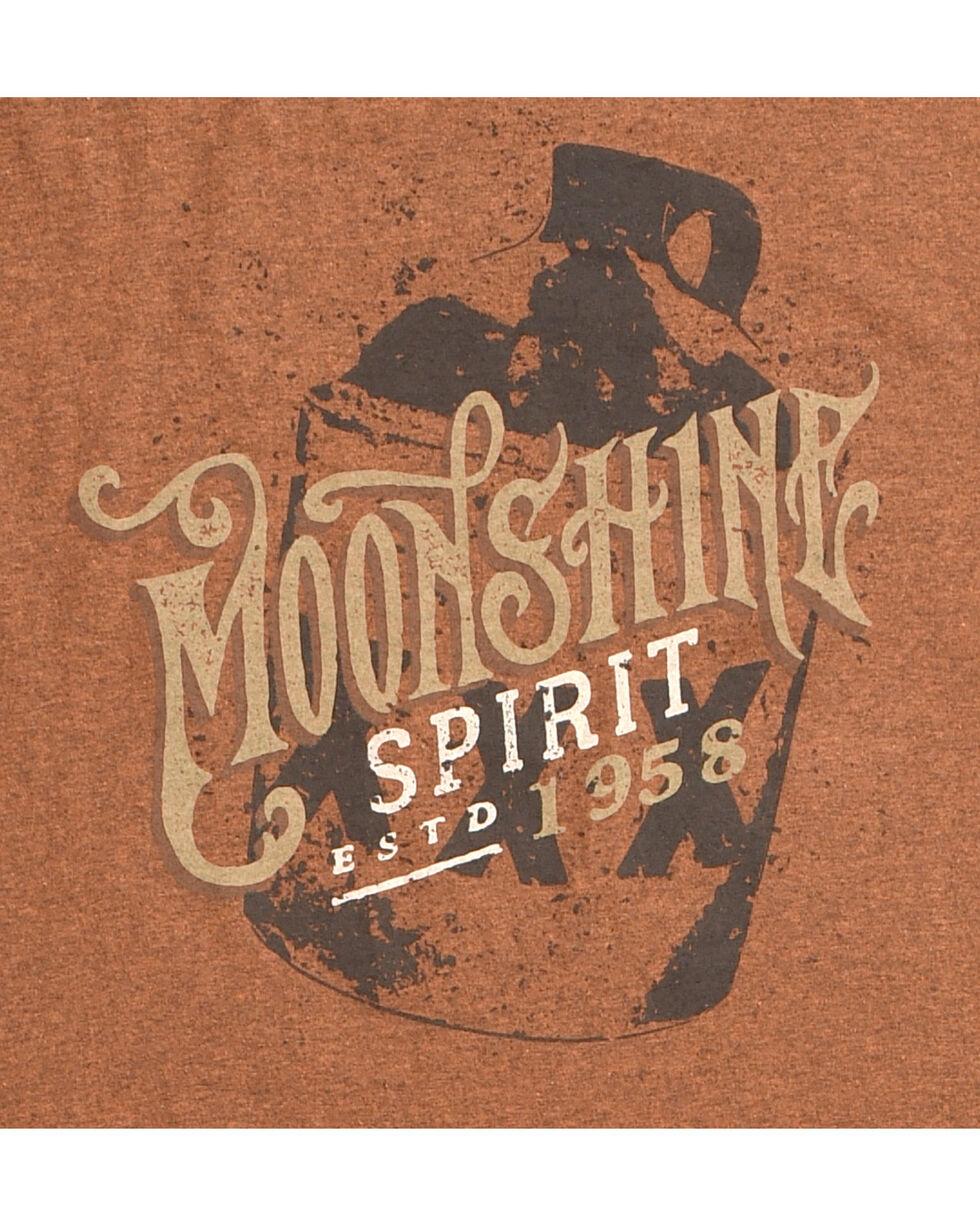 Moonshine Spirit Men's Devil's  Ride Graphic Tee, Rust Copper, hi-res
