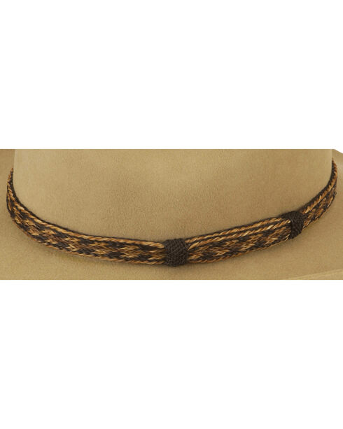 Austin Accent Braided Horsehair Hat Band, Brown Multi, hi-res
