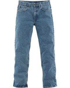 Carhartt Traditional Slim Fit Five Pocket Jeans - Big & Tall, Lt Denim, hi-res