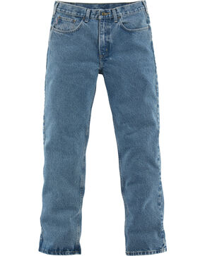 Carhartt Traditional Slim Fit Five Pocket Jeans - Big & Tall, Lt Denim, hi-res