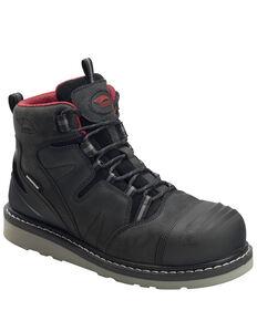 """Avenger Men's Waterproof 5"""" Work Boots - Carbon Safety Toe, Black, hi-res"""
