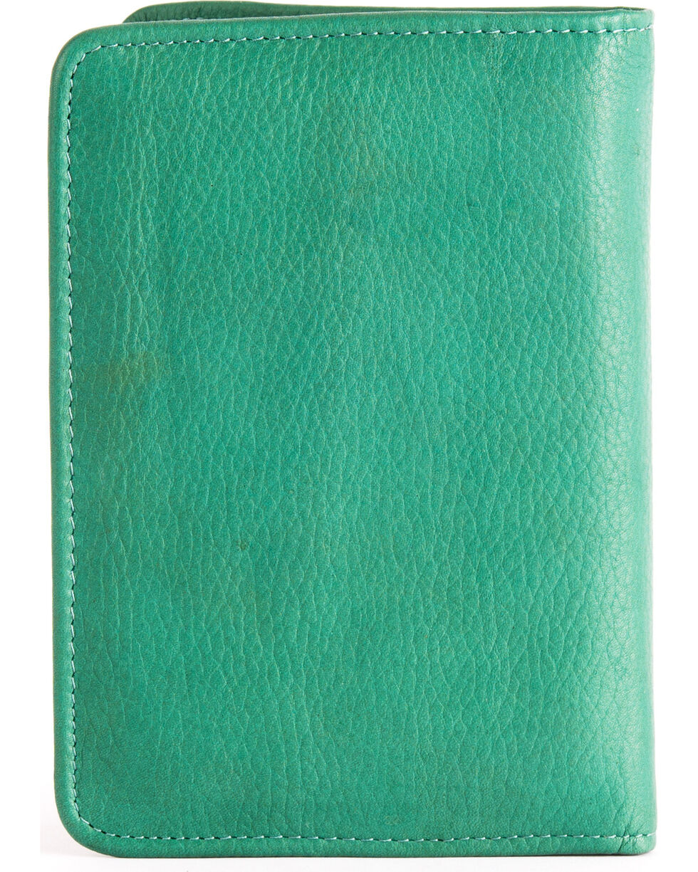 STS Ranchwear Jade Magnetic Wallet , Light/pastel Green, hi-res