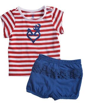 Browning Infant Girls' Stardust Set , Red/white/blue, hi-res