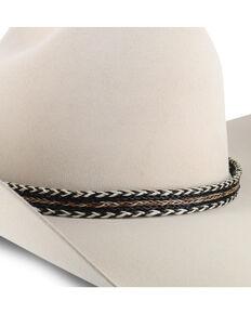Colorado Horsehair Single Tassel Hat Band , Natural, hi-res