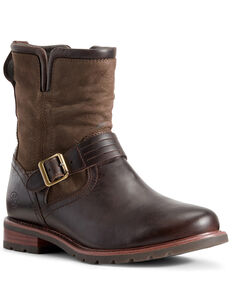 Ariat Women's Savannah Waterproof Boots - Round Toe, Brown, hi-res