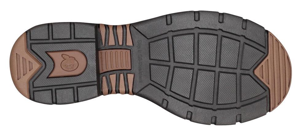 Georgia Athens Waterproof Work Boots - Round Toe, Brown, hi-res