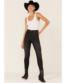 Wrangler Women's Heritage High Rise Skinny Jeans, Black, hi-res