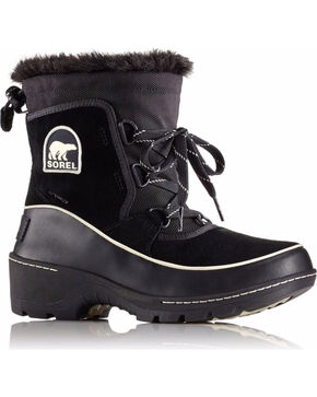 SOREL Women's Black Tivoli III Waterproof Winter Boots , Black, hi-res
