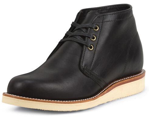 Chippewa Men's 1955 Original Modern Suburban Black Boots - Round Toe, , hi-res