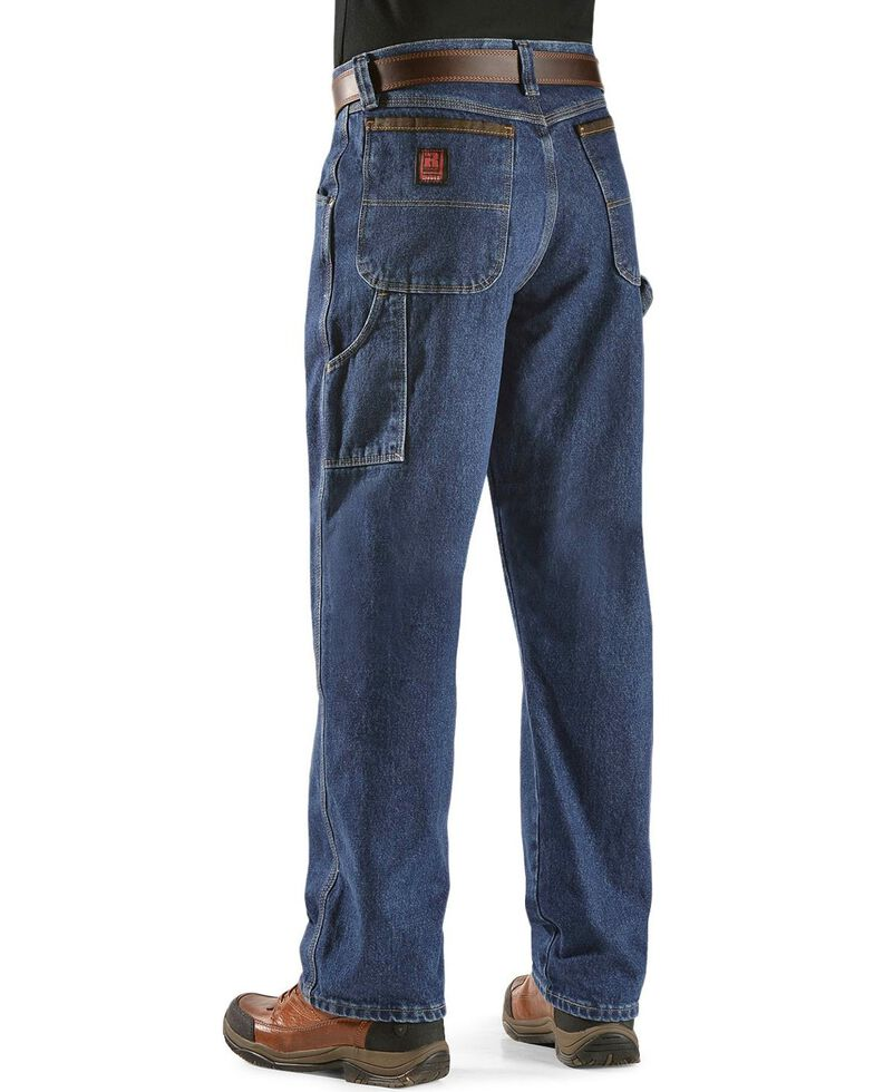 db01b950 Zoomed Image Wrangler Jeans - Riggs Workwear Relaxed Carpenter Jeans,  Antique Indigo, hi-res