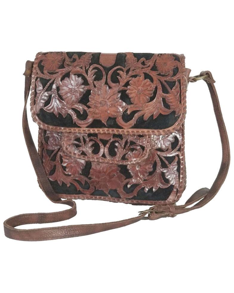 Kobler Leather Women's Sierra Crossbody Bag, Black, hi-res