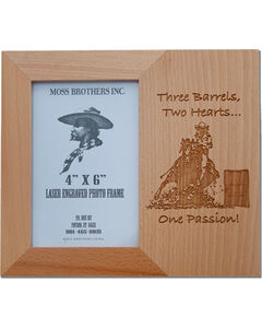 Moss Brothers Three Barrels, Two Hearts... Picture Frame, Natural, hi-res