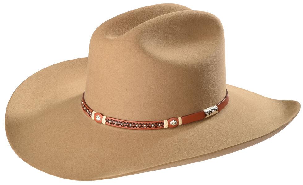 Stetson Men's Light Brown Monterey T Felt Hat , Lt Brown, hi-res