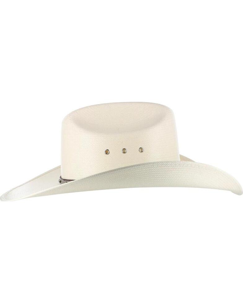 cd851b31af27b Larry Mahan Men s 10X Brindle Straw Hat