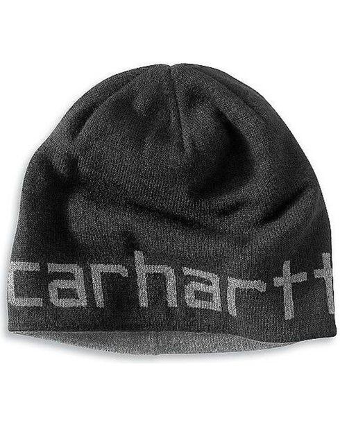 Carhartt Logo Reversible Knit Hat, , hi-res