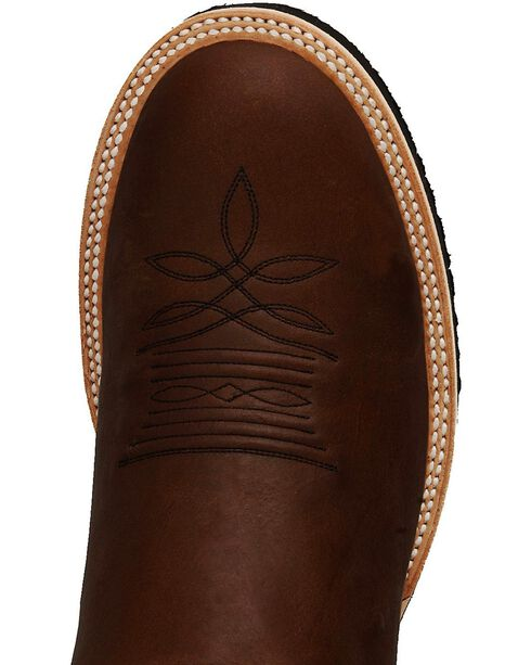 Justin Tekno Crepe Cowboy Boots - Round Toe, Coffee, hi-res