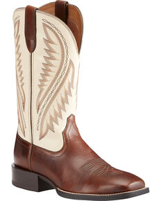 Ariat Men's Brown Sport Stonewall Native Western Boots - Square Toe , Brown, hi-res