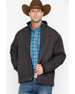 Cinch Men's Brown Bonded Jacket, Brown, hi-res