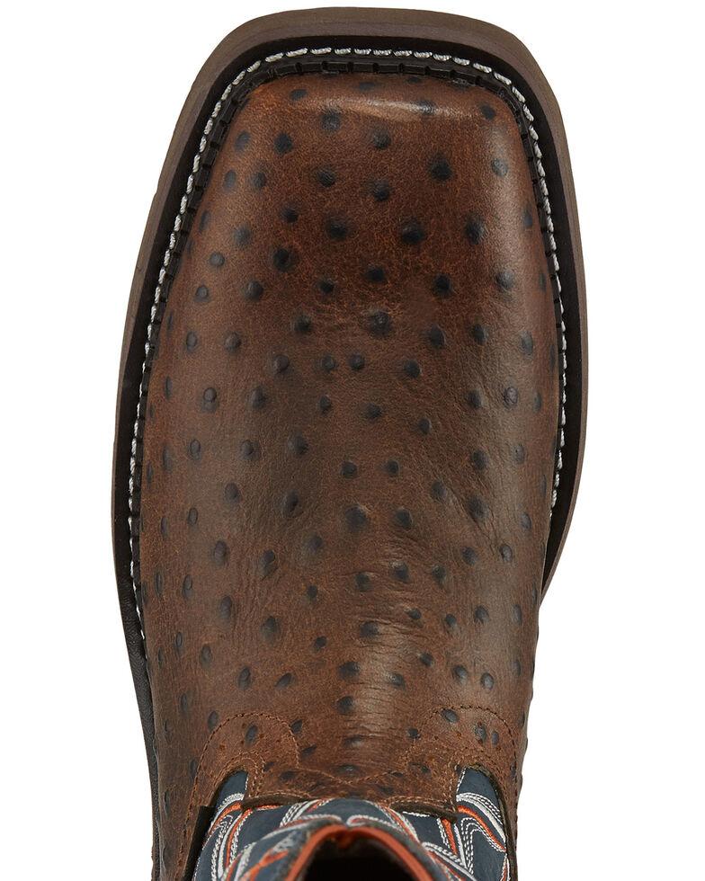 Justin Women's Tarana Chocolate Western Work Boots - Composite Toe, Brown, hi-res