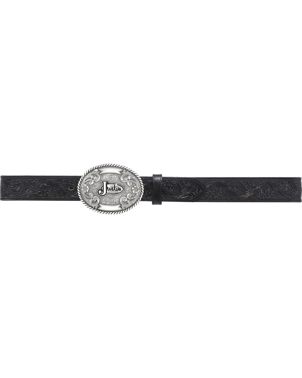 Justin Men's Trophy Work Belt , No Color, hi-res