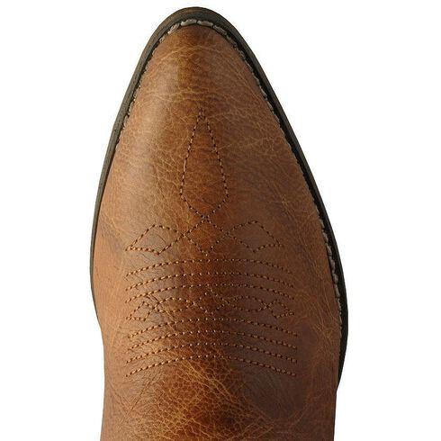 Dingo Moon & Cactus Zipper Ankle Boots, Tan, hi-res