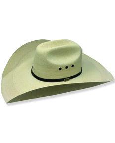 """Atwood Men's Aspermont Low Crown """"5"""" Palm Cowboy Hat , Natural, hi-res"""