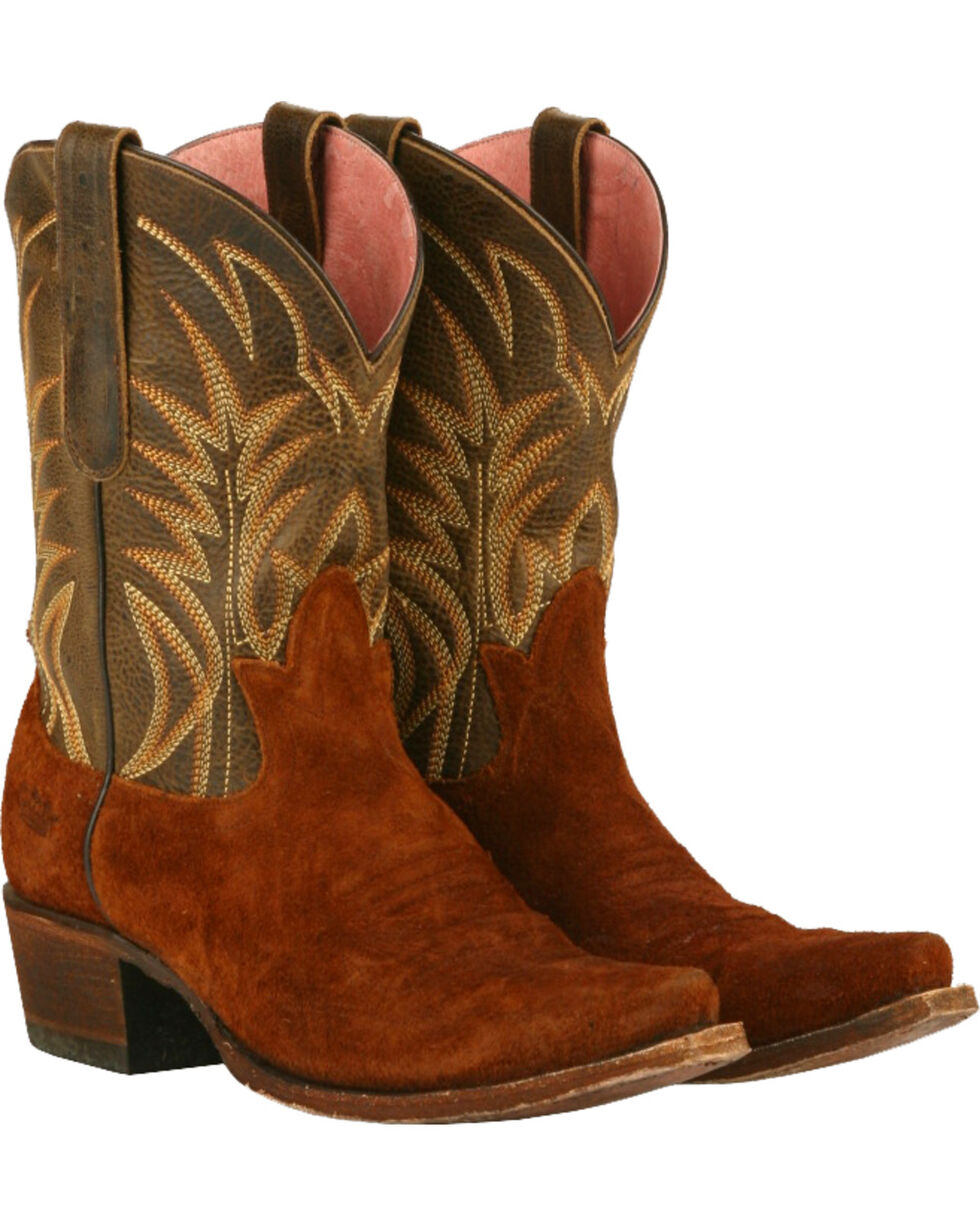 Junk Gypsy by Lane Brown Dirt Road Dreamer Western Boots - Snip Toe , Chili, hi-res