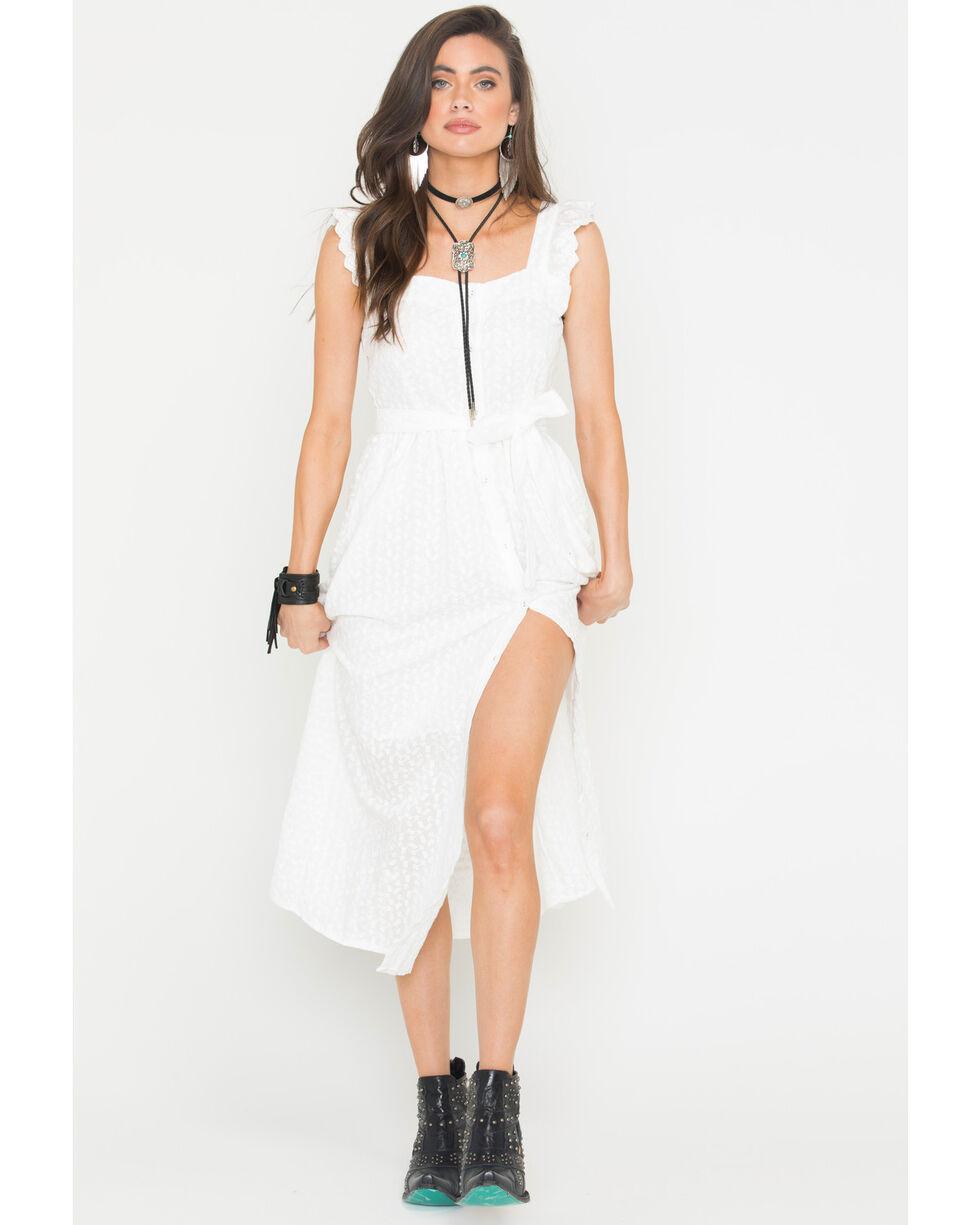 Sage the Label Women's White Coastline Maxi Dress , White, hi-res