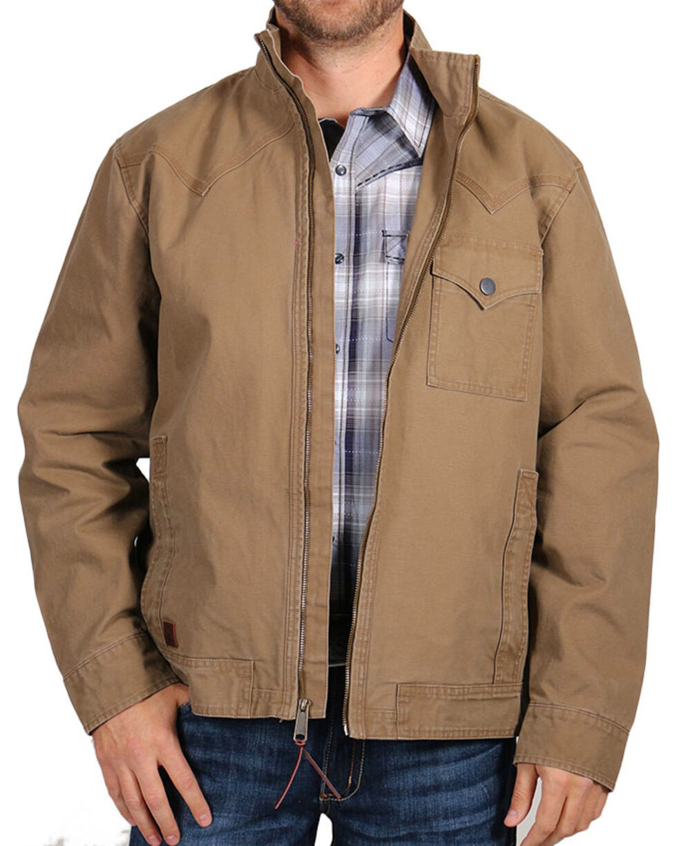 Cody James Men's Scout Jacket , Tan, hi-res
