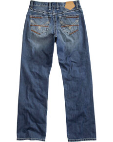 Tin Haul Men's Medium Wash Regular Joe Fit Bootcut Jeans, Indigo, hi-res