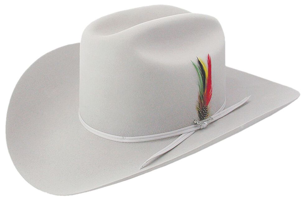 Stetson 6X Silverbelly Rancher Fur Felt Cowboy Hat, , hi-res