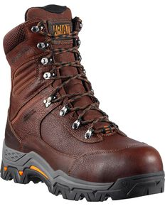 Ariat WorkHog Trek H2O Insulated Work Boots - Comp Toe, Brown, hi-res