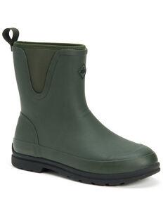 Muck Boots Men's Muck Originals Rubber Boots - Round Toe, Moss Green, hi-res