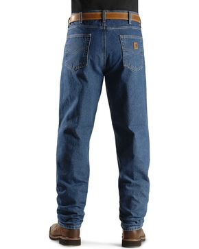 Carhartt Jeans - Dark Denim Relaxed Fit Work Jeans, Dark Stone, hi-res
