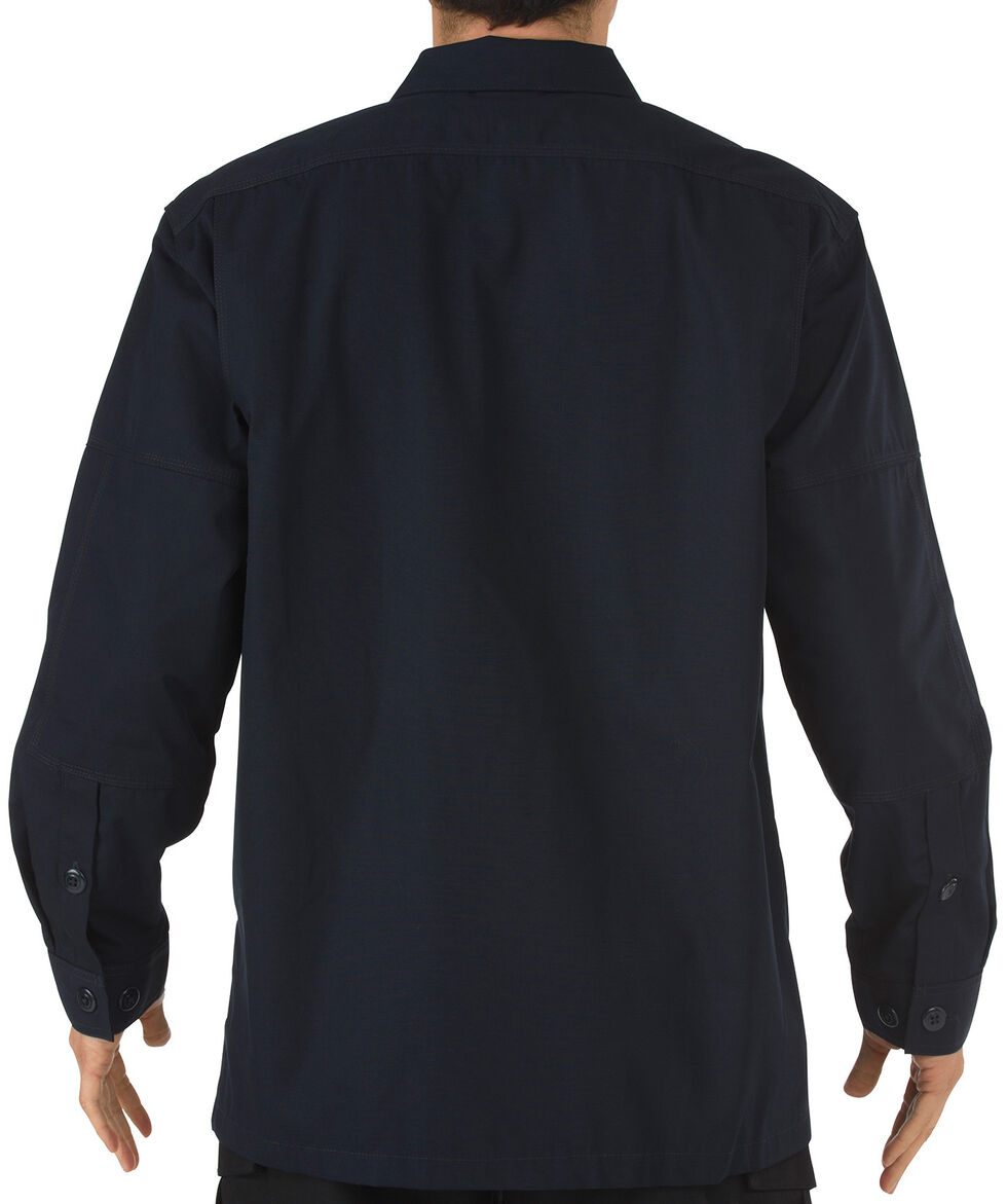 5.11 Tactical Ripstop TDU Long Sleeve Shirt, Navy, hi-res