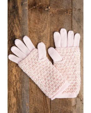 Idyllwind Women's Pink Cozytown 3 Way Gloves, Pink, hi-res