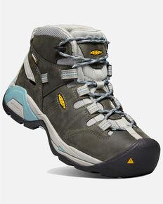 Keen Women's Detroit XT Waterproof Work Boots - Soft Toe, Grey, hi-res