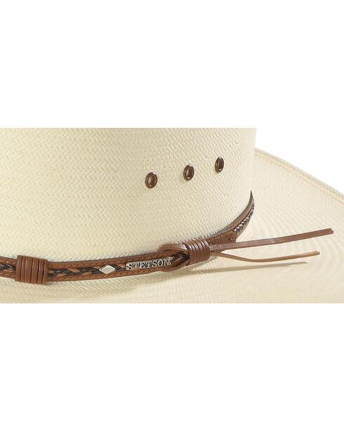 Stetson 8X Ocala Wide Brim Straw Hat, Natural, hi-res