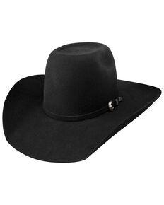 Resistol Black Pay Window Jr. Western Hat, Black, hi-res