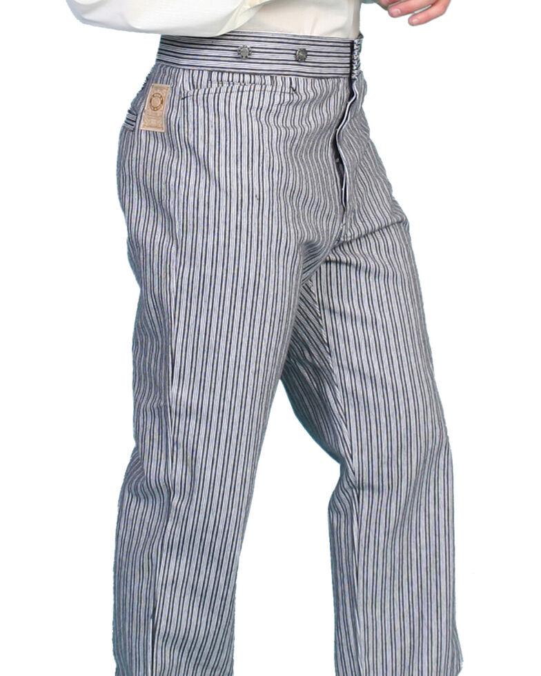 Wahmaker by Scully Railhead Stripe Pants, Black, hi-res